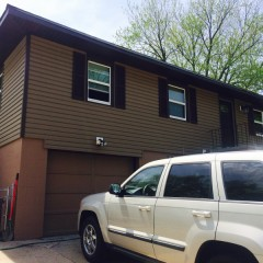 Just Got Done With This House Khaki Brown Siding And Trim